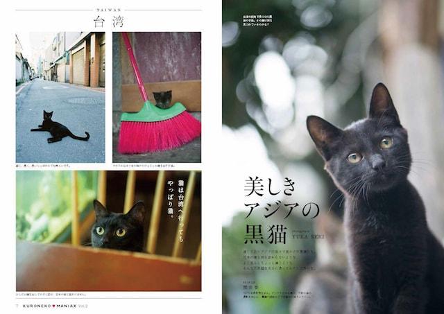 関由香さんによる黒猫グラビア「美しきアジアの黒猫」 by 黒猫マニアックスVol.2