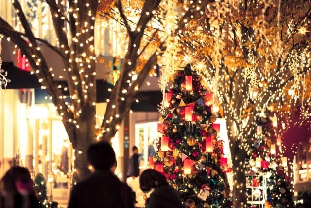 真冬・クリスマスのイメージ写真(AC)