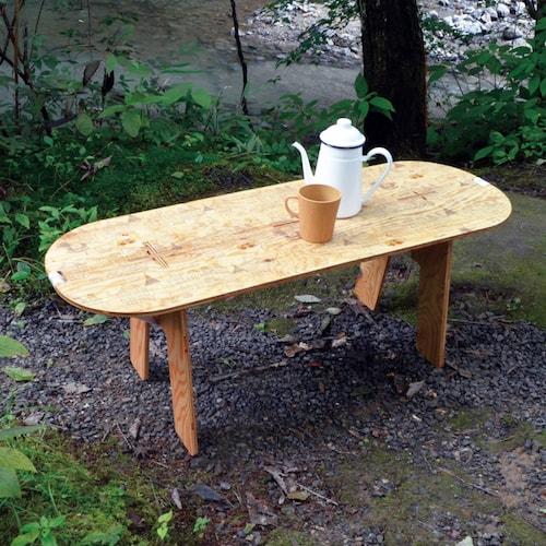 ハローキティのPANEL LONG TABLE(パネルロングテーブル)、製品使用イメージ1