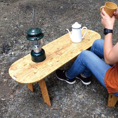 ハローキティのPANEL LONG TABLE(パネルロングテーブル)、製品使用イメージ2