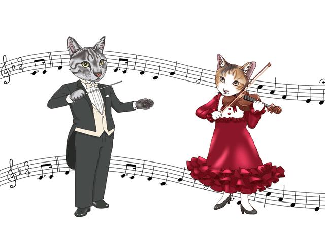 旅猫ニャン吉の写真展と猫の音楽会によるコラボイベントが開催
