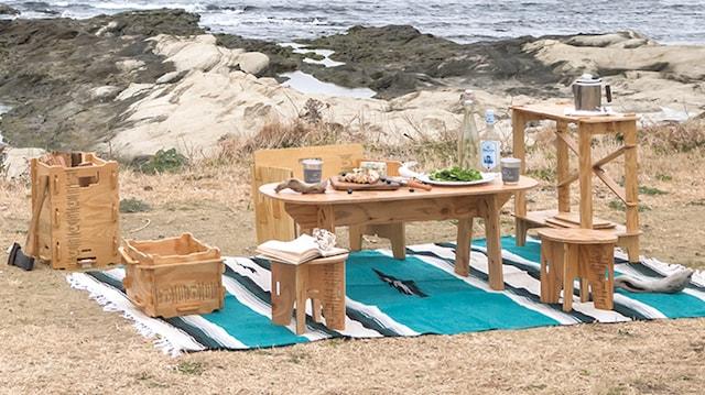 組み立て式家具のブランド「YOKA(ヨカ)」の製品使用イメージ