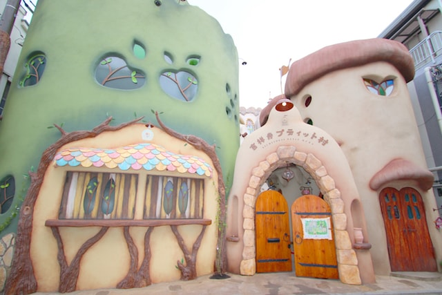 吉祥寺のテーマパーク「吉祥寺プティット村」の入口