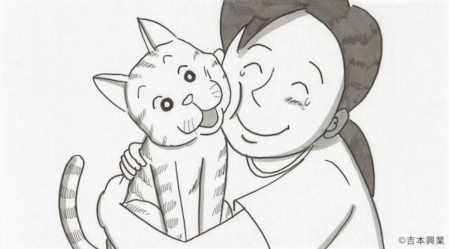 鉄拳、初めての【猫のものがたり】。『小さな便り、大きな便り。』