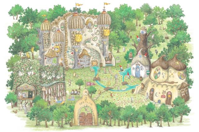 吉祥寺のテーマパーク「吉祥寺プティット村」の全体イメージ