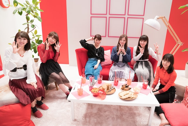 CM撮影の合間の乃木坂46