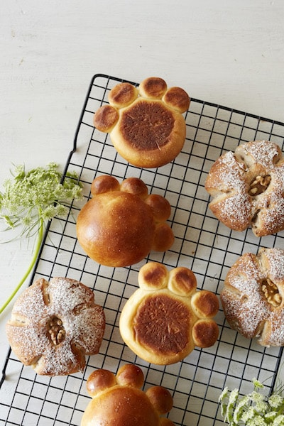 オレンジクリームパン&ウォールナッツ by アフタヌーンティー・ティールーム