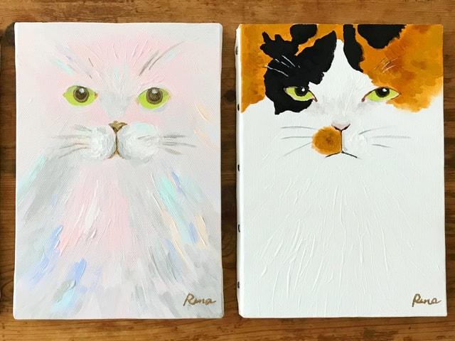 あの著名人も猫化!イラストレーター山中玲奈さんの個展「猫色の人生」