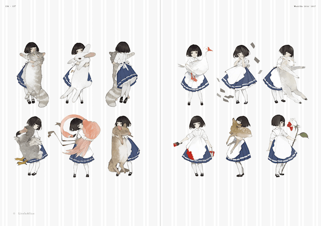 作品名「Little Alice」 by Soirée ねこ助作品集 ソワレ