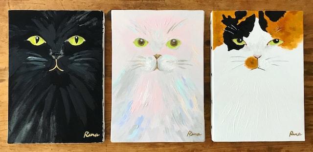 人物を猫化したポートレート作品「I am a Cat」by 山中玲奈