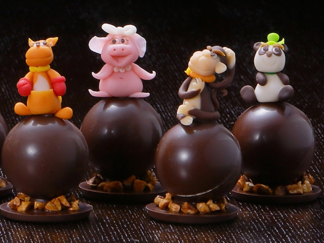 ブタやパンダなど13種類の動物がチョコレートになったアニマルショコラ