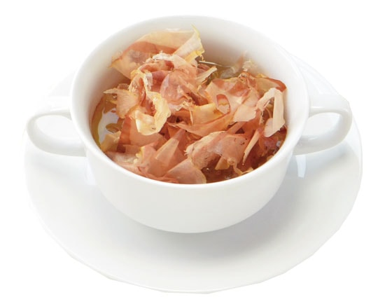 魚介の旨みたっぷりまぐろスープ