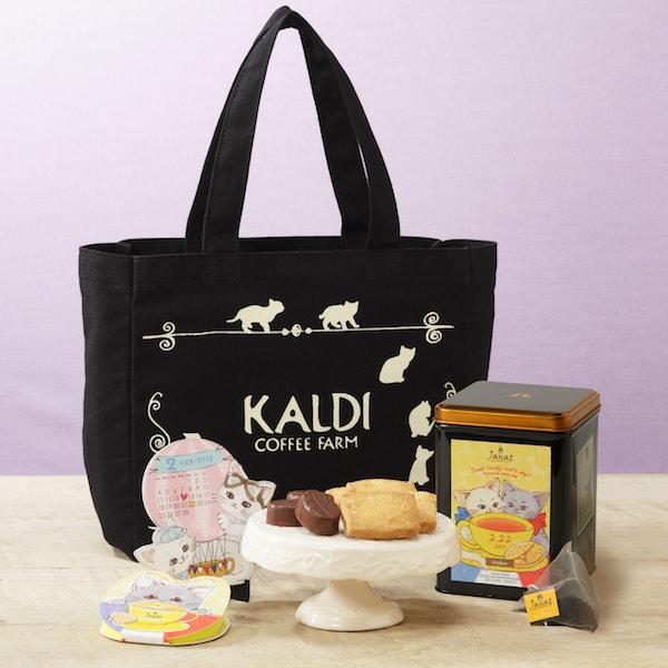 カルディコーヒーファーム(KALDI COFFEE FARM)の猫の日限定バッグ