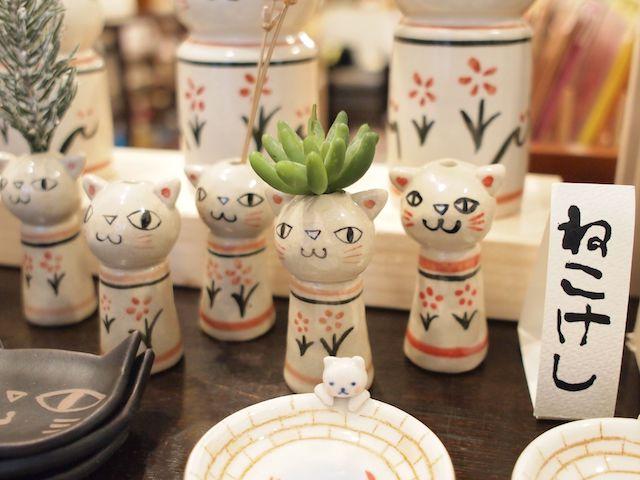 王冠印雑貨店(猫雑貨)の猫雑貨