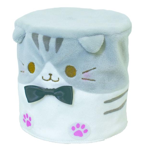 猫のトイレットペーパーカバー、スコティッシュフォールドをモチーフにしたデザイン