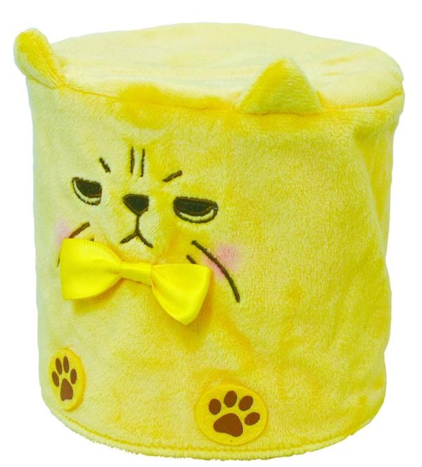 猫のトイレットペーパーカバー、エキゾチックショートヘアをモチーフにしたデザイン
