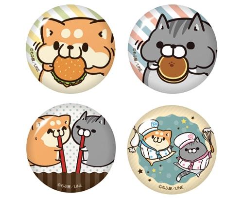 缶バッジ by ボンレス犬とボンレス猫