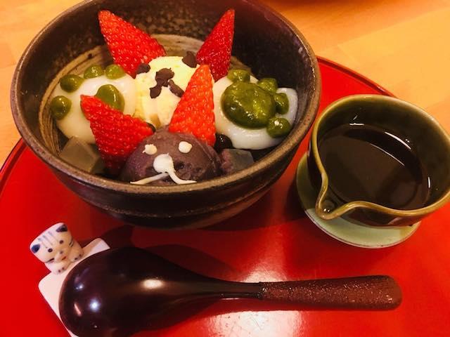 茶房松緒(甘味処)の猫メニュー