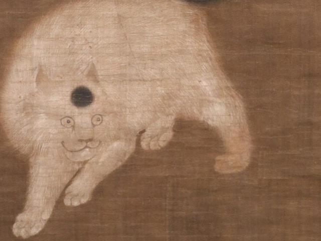 猫や犬など東アジアの花と生き物を描いた美術作品展「特別企画展 生命の彩(いろどり) ―花と生きものの美術―」が奈良の大和文華館で開催