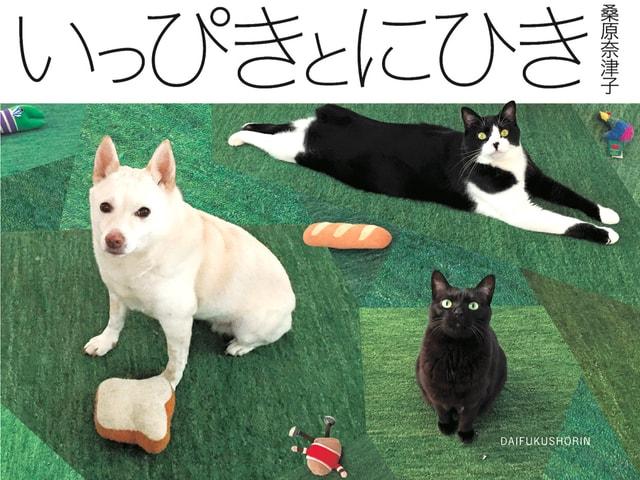 料理研究家・桑原奈津子さんの犬猫写真集「いっぴきとにひき」