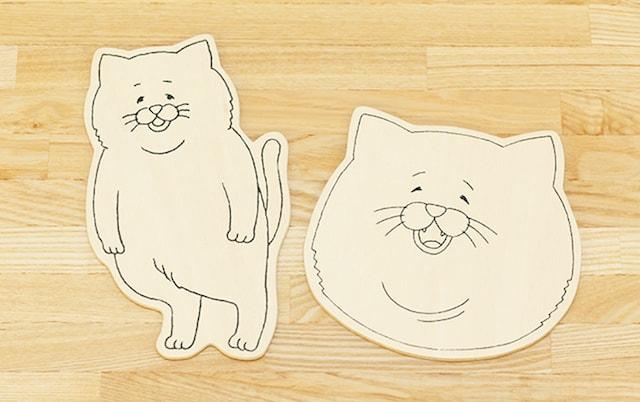 ネコノヒー木製はがき by 13.CATS.WORKS