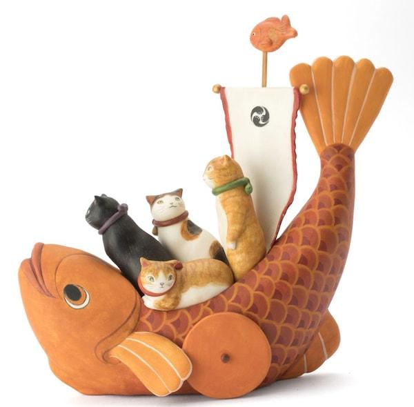 松本浩子 作「鯛車」