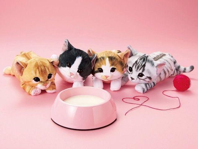 フェリシモ猫部の猫ポーチ