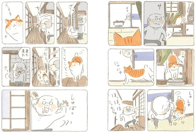漫画「ねことじいちゃん」第四巻の作品イメージ2