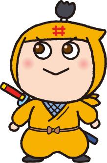 彦根市の新しい忍者キャラクター「いいのすけ」