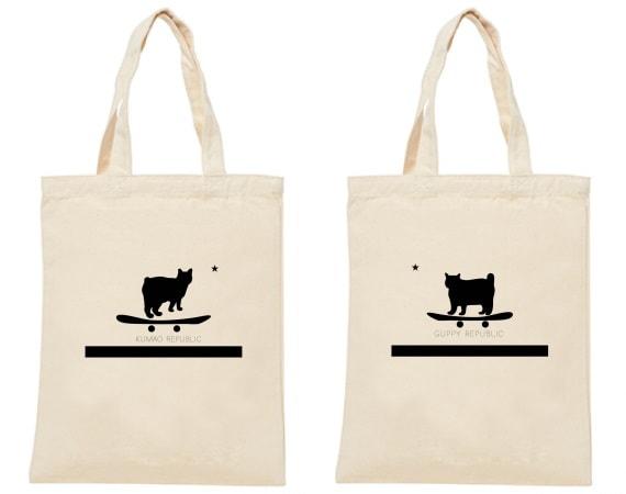A4トートバッグ by 人気猫ぐっぴー&くまおのコラボグッズ
