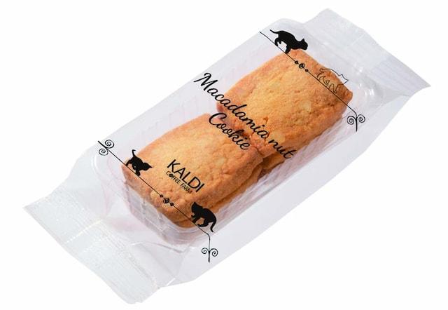 カルディコーヒーの猫マカデミアナッツクッキー