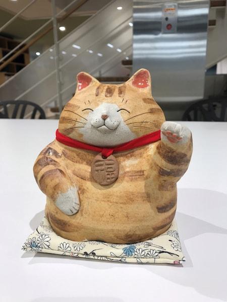 常滑市のオリジナル招き猫プレゼント