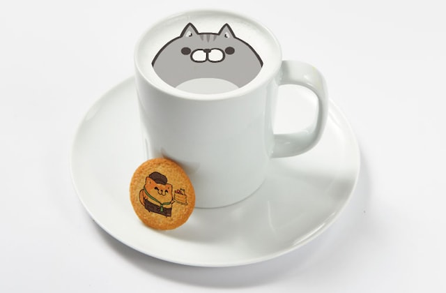 ボンレス猫ホットラテ by ボンレス犬とボンレス猫