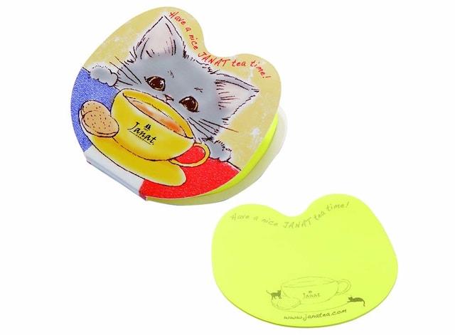 カルディコーヒーの猫ジャンナッツ オリジナル付箋