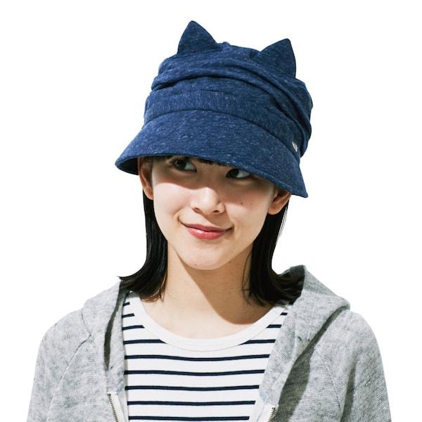 クロッシェ猫帽子