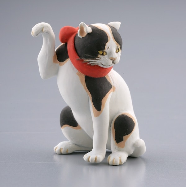 国芳の猫フィギュア by たとゑ尽の内