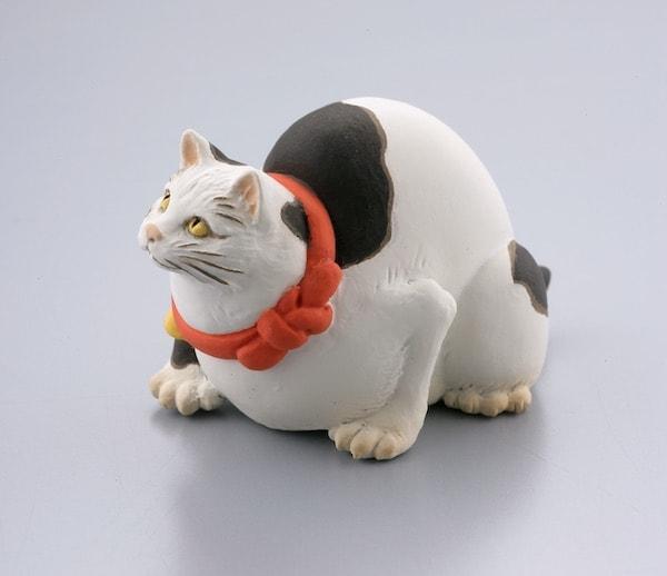 国芳の猫フィギュア by 鼠よけの猫