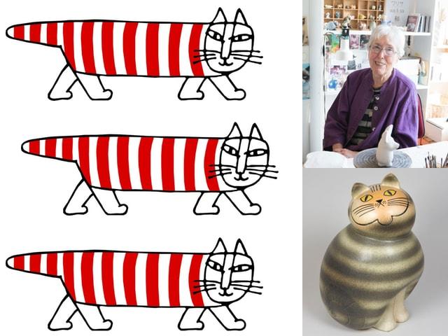 シマシマ猫のマイキーの生みの親「リサ・ラーソン展」が4月から札幌で開催