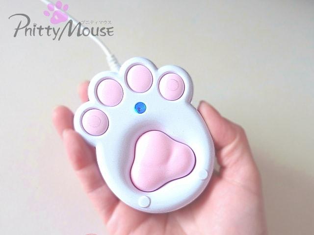 猫の手型の肉球マウス・Pnitt Mouse(プニティマウス)の第2弾が登場