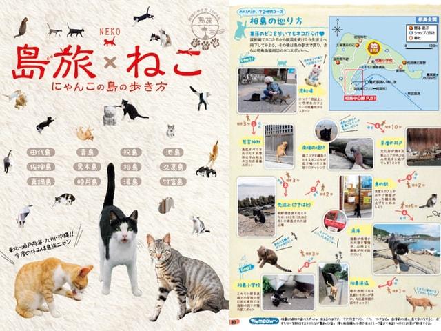地球の歩き方の猫島バージョン、12の島々を紹介する「島旅ねこ」