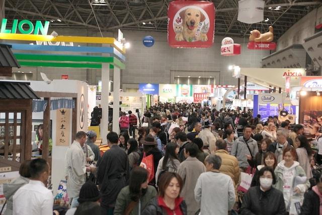 日本最大級のペットイベント「インターペット」の会場