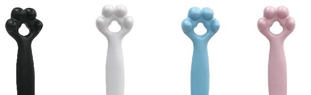 コロコロの持ち手部分が猫の手