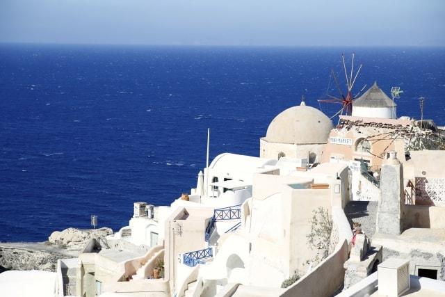 ギリシャ・サントリーニ島のイメージ写真