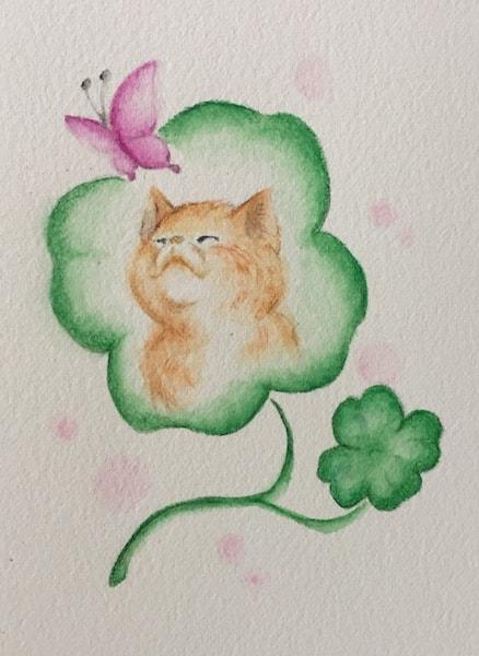 猫の絵画(作家:ぎんた)