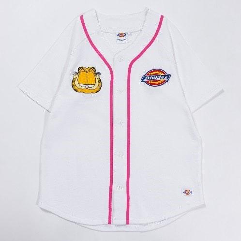 GARFIELD×DickiesベースボールTシャツ