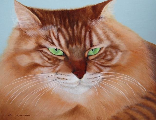 猫の絵画作品 by 猫ねこ展覧会2018