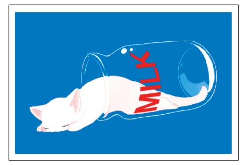 ねこMILKポストカード