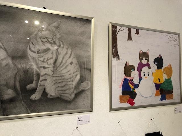 猫の絵画作品 by パリ・NEKO・コレクション2018