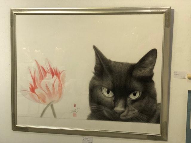 猫の絵描き 高橋行雄さんの猫絵画作品