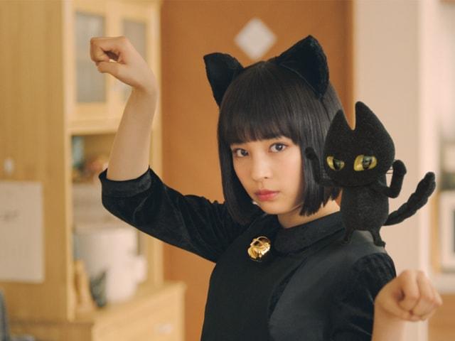 広瀬すず演じる「すずネコ」、チャルメラの新CMで最新映像を公開